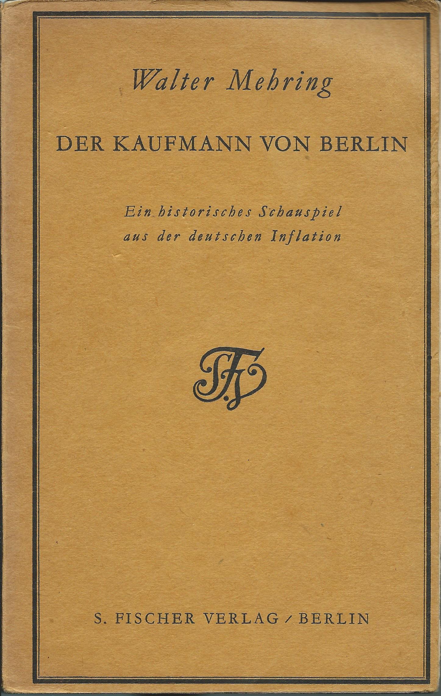 Der Kaufmann von Berlin (1929)