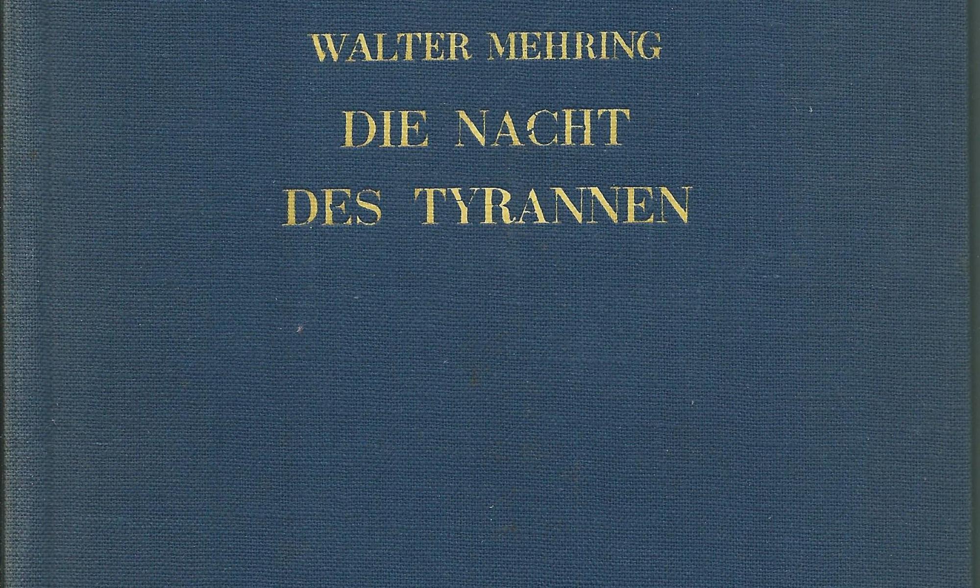 Die Nacht des Tyrannen (1937)