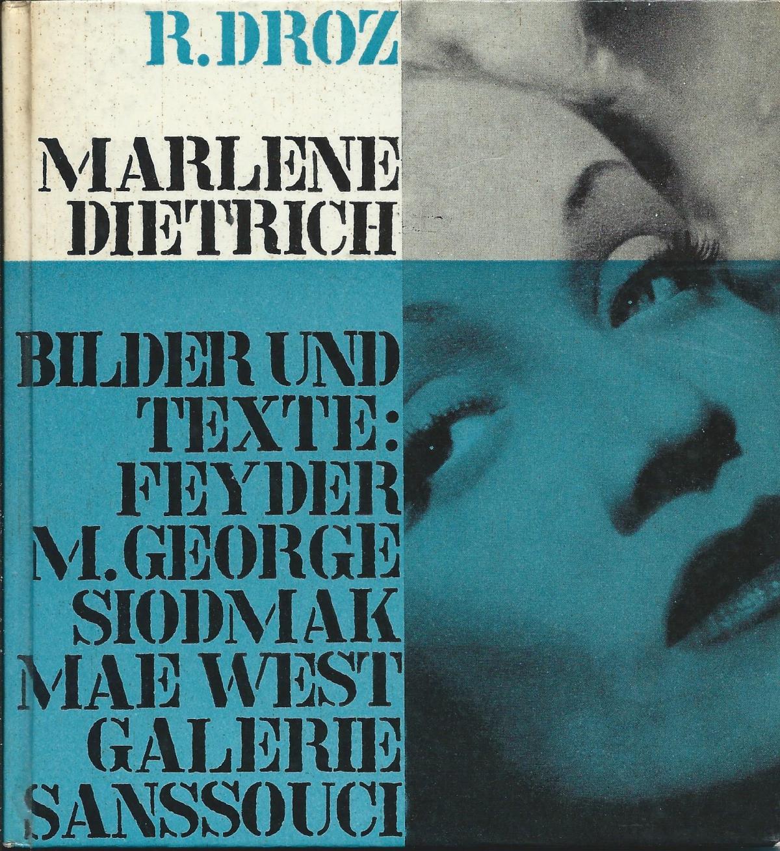 René Droz (Hg.): Marlene Dietrich
